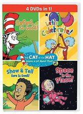 The Cat In The Hat Knows A Lot About That!: Cat In The Hat 4 In 1 (DVD)
