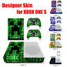 Grid Designer Series Skin Sticker For XBOX ONE S Gaming Console+2 Controller