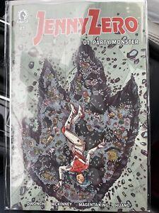 JENNY ZERO # 1 (2021) — Cover A RECALLED PRINTING ERROR Dark Horse — NM