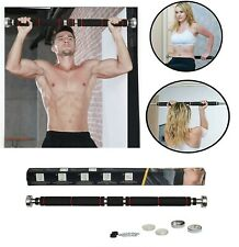 Door Home Exercise Adjustable Pull up Bar Chin Ups Workout Training Gym Fitness