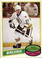 1980-81 O-Pee-Chee Brad McCrimmon Rookie #354
