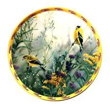 Lenox Golden Splendor Catherine McClug Nature's Collage Bird Plate 1992 Ltd Ed