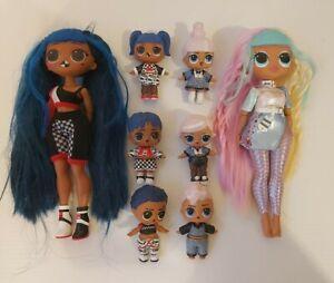 OMG LOL Surprise Dolls Bundle Bulk Lot - 8 Dolls