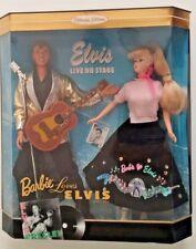 BARBIE LOVES ELVIS COLLECTOR EDITION 1996 Still in Box