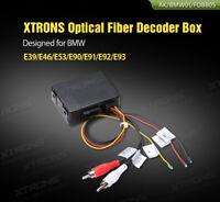Car Optical Fiber Decoder Box Audio Converter for Mercedes Benz CLS//E//CLK//SL//SLK