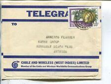 Antigua & Barbuda Telegram cover 1985