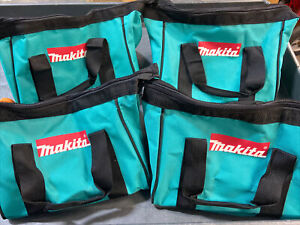 Brand New Makita 11 Inch Contractor Tool bag with reinforced handles (4 Pack)