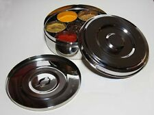 Neelam's Spice Container Stainless Steel Spice Tin Superior Quality Masala Dabba