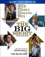 The Big Short BLU-RAY + DVD + Digital HD W/SLIPCOVER -  NEW FREE SHIPPING