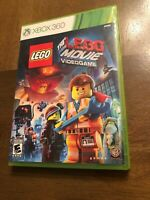 The Lego Movie Videogame Xbox 360 Case And Game Complete Tested