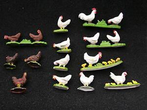 BRITAINS FARM ANIMALS, CHICKENS MULTI-LISTING