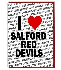 Greeting Card - Birthday Card - I Love Salford Red Devils