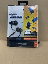 Monster Mobile Jamz w/ ControlTalk 132708-00 In-Ear Only Headphones - Black