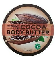 Derma V10 Cocoa Body Butter 220ml Body Lotion Cream Ladies Care Moisturiser