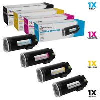LD Compatible Xerox Versalink C500, C505 EHY Toner Set Black Cyan Magenta Yellow