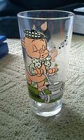 1976 Pepsi Petunia & Porky Pig Collector's Glass Cup