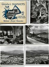 Valentines  Snapshots  of BALLATER (ROYAL DEESIDE) ,12 REAL PHOTOS   VINTAGE