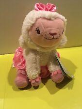 "Doc McStuffins Lambie Lamb Plush Doll * 8"" Disney NWT Easter Valentines W Tutu"