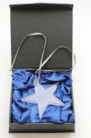 New Dallas Cowboys Football Ornament Christmas Collector Texas Star Hologram NFL