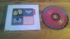 CD Pop Throw That Beat In The Garbagecan - Fashion Train (3 Song) Promo SCOOP sc