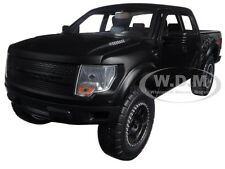 2011 FORD F-150 SVT RAPTOR PICKUP TRUCK MATT BLACK 1/24 MODEL CAR BY JADA 96867