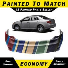 NEW Painted To Match - Rear Bumper Cover For 2009 2010 Toyota Corolla Sedan