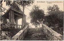 CPA 56 - LE FAOUET (Morbihan) 509. L'Entrée de la Chapelle Sainte-Barbe. Beffroi