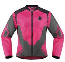 Icon Women's Anthem 2 Jacket Pink Small NEW