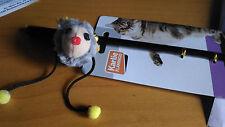 Piantone sterzo con mouse per gatti 11 cm gioco gatto