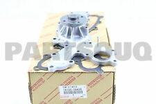 1610039436 Genuine Toyota PUMP ASSY, ENGINE WATER 16100-39436