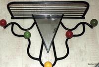 ROGER FEROUD MODERNIST COAT HANGER ( Bauhaus Mid-Century-Modern Nelson Eames )