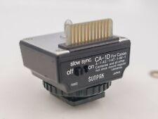 Sunpak CA-1D Flash Unit Interface Module Canon A-1 AE-1 Program AV-1 F1 Cameras
