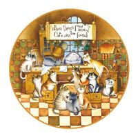 """Wooden Jigsaw Puzzle """"Happy Cats"""". Whimsy details. NEW!"""