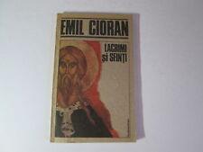"1991 Emil Cioran ~ Lacrimi si Sfinti Repro PB Romanian Language ""Tears& Saints"""
