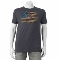 """Official Licensed GM Chevrolet """"American Made"""" Logo Flag Muscle Men's T-Shirt NW"""