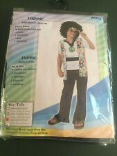 PAM's Children's Hippie Costume Unisex, Fancy Dress - Size Large
