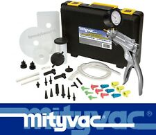 Mityvac MV8500 Silverline Elite Automotive Brake Bleeding Pump Kit New Free Ship