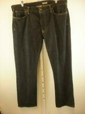 POLO RALPH LAUREN Bootcut 750 Jeans Selvedge Denim Black Mens sz 36 38 X 32 34