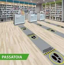 """Passatoia """"rispetta distanze"""" Tris Spagna ROTOLO da h.50 cm x 25 ml"""