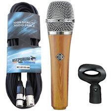 Telefunken M80 Oak dynamisches Mikrofon + XLR-Kabel