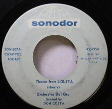 Soul 45 Orchestra Del Oro - Theme From Lolita / Lolita Ya-Ya On Sonodor