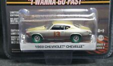 Greenlight 1969 69 Chevelle Hollywood 8 Raw Super Green Machine 1/64 1 of 48 Pcs