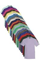 Hanes USA Mens Plain Cotton Beefy Heavyweight Tee T-Shirt Tshirt