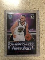 Stephen Curry 2018-19 Donruss Optic Franchise Features Silver Prizm Refractor