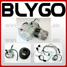 BT 125cc 3+1 Semi Auto Engine Motor + Wiring Kit+ Carby QUAD DIRT BIKE ATV BUGGY