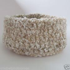 Newborn Posing Bowl Nest/Pod/Cocoon Photography Prop-Handmade crochet-cream- USA
