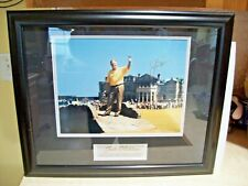2000 Upper Deck Jack Nicklaus on the Swilken Bridge at British Open Framed Photo