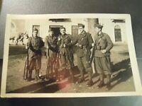 FOTO MILITARE - - FOTO DI GRUPPO  - originale dell'epoca