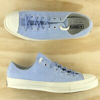 Converse Chuck Taylor 70 Blue White Low Top Athletic Sneaker 160097C Size 11