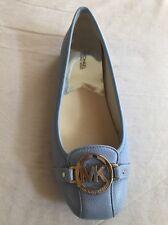 Michael Kors Fulton Moc Women's US Blue Flats New With Box Size  8.5